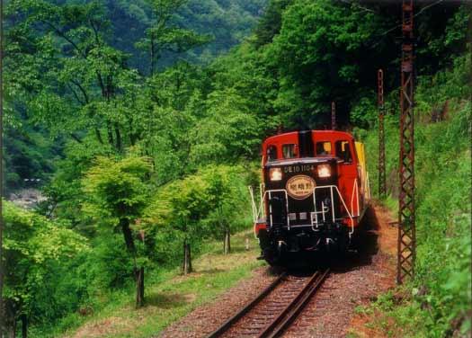 Sagano Romantic Train Kyoto