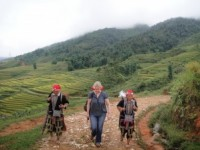 Walking in Sapa