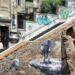 Graffiti-Number-2-train-ReadyClickAndGO in Belgrade, Serbia