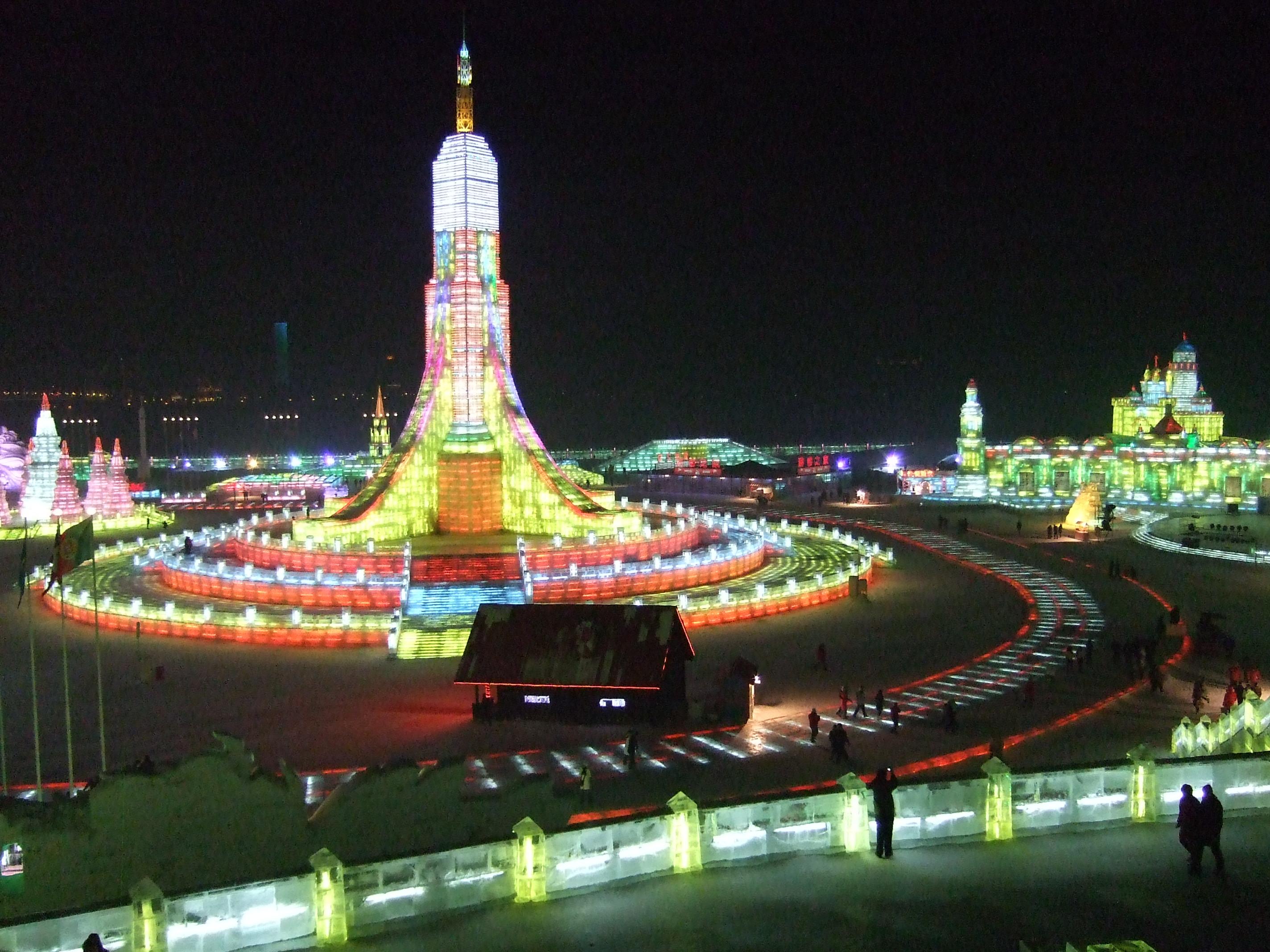 Ice festival Harbin ReadyClickAndGo