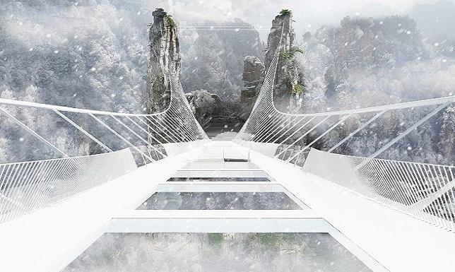 the Zhangjiajie Glass Bridge readyclickandgo