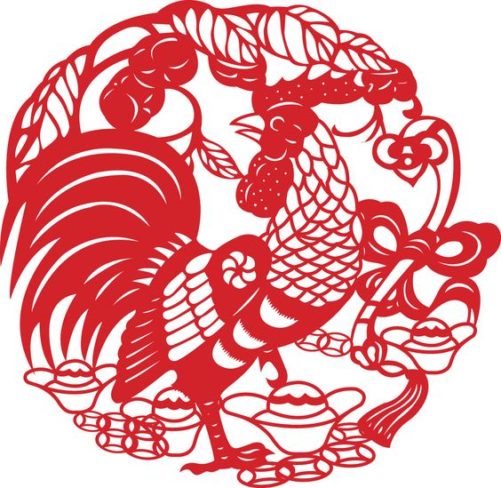 the Chinese New Year of Rooster