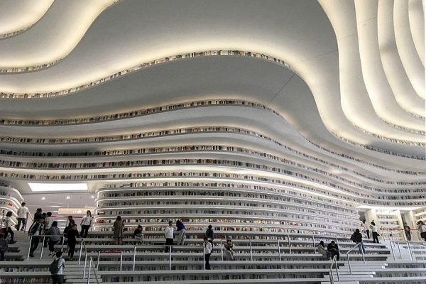New library in Tianjin