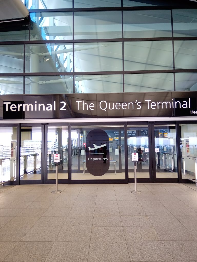 terminal 2 Heathrow Readyclickandgo travel