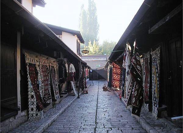 Walking tour of Sarajevo